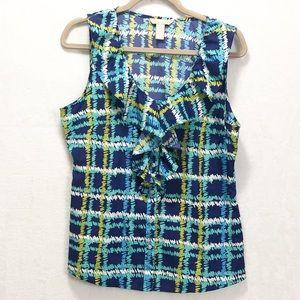 Banana Republic sleeveless blouse size L